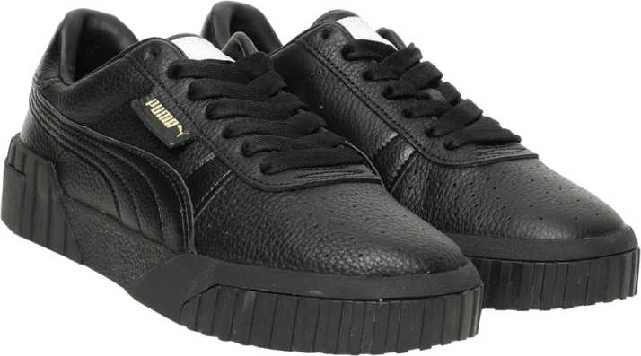 Puma Cali Nubuck W shoes black
