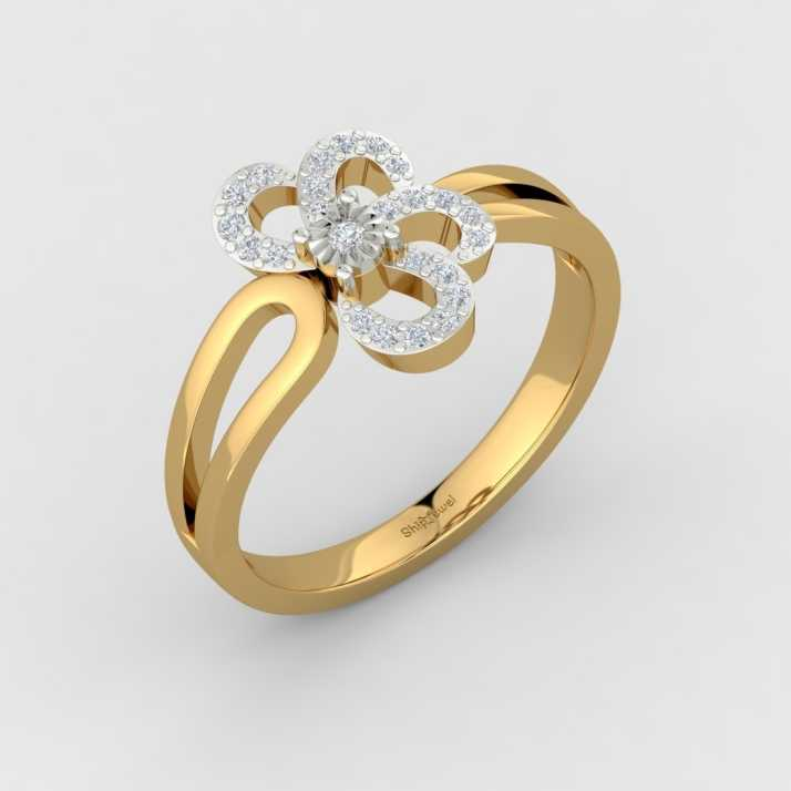 6eded3bd6 ShipJewel Viva Floral ring-18KT Gold-18 18kt Diamond Yellow Gold ring Price  in India - Buy ShipJewel Viva Floral ring-18KT Gold-18 18kt Diamond Yellow  Gold ...