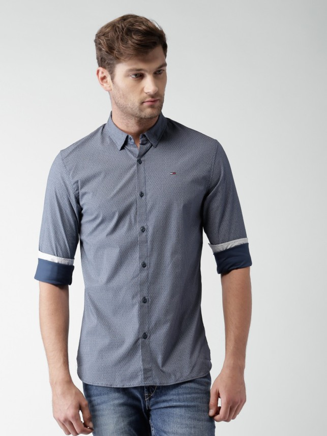 tommy hilfiger men's casual shirts