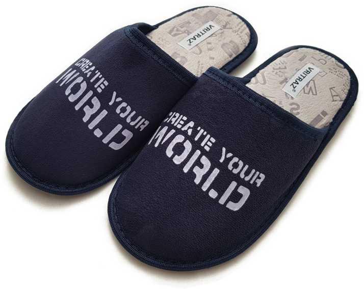 725fd1e86f40 Vritraz Cozy Foam Faux Fur Slippers Fuzzy Wool-Like Plush Fleece Lined  House Shoes Indoor