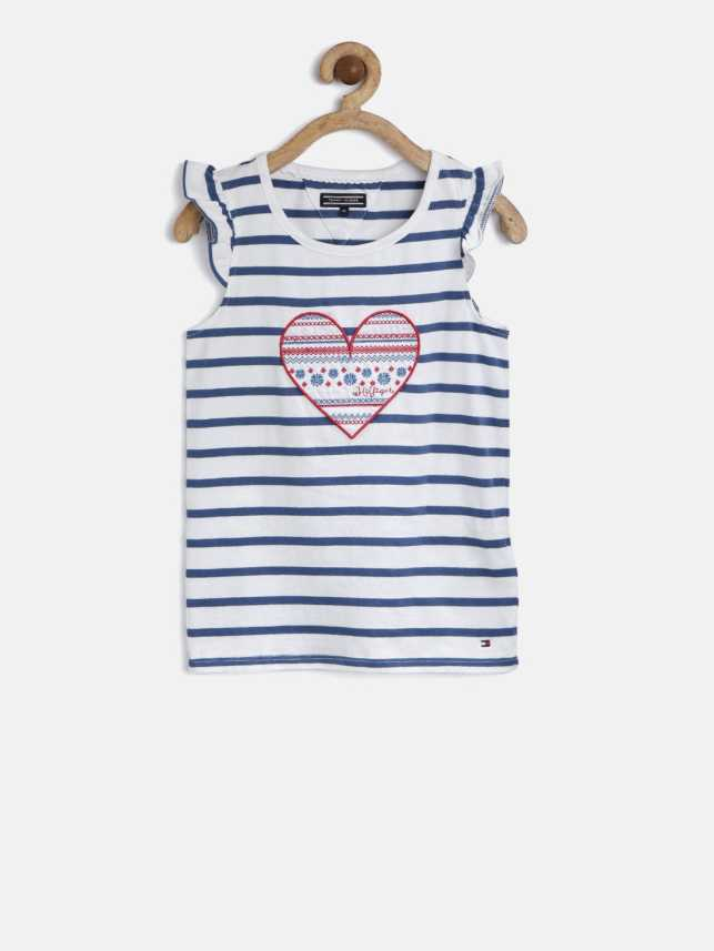 20f094cf88b0b5 Tommy Hilfiger Girls Cotton Top Price in India - Buy Tommy Hilfiger ...