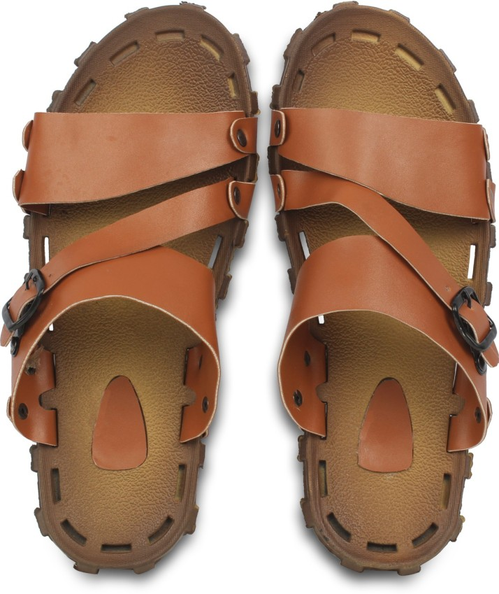 920 Man`s natural leather sandals