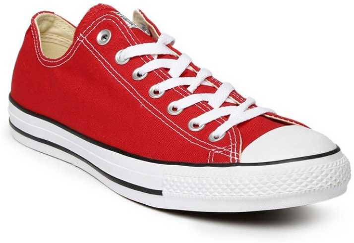 1535ca861 Converse All Star Chuck Taylor navy blue & white Canvas Shoes For Men (Red,  White). Special price