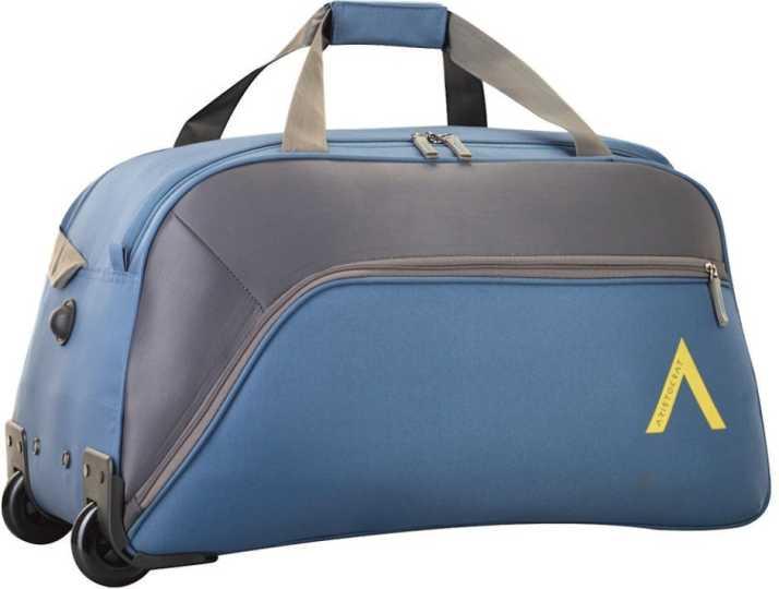 Aristocrat 25 Inch/65 Cm Volt Nxt Dft 65 Teal Duffel Strolley Bag (Blue)