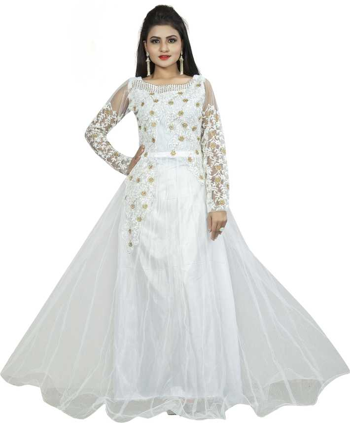 0b80fa2920 Smart Shop Anarkali Gown Price in India - Buy Smart Shop Anarkali Gown  online at Flipkart.com