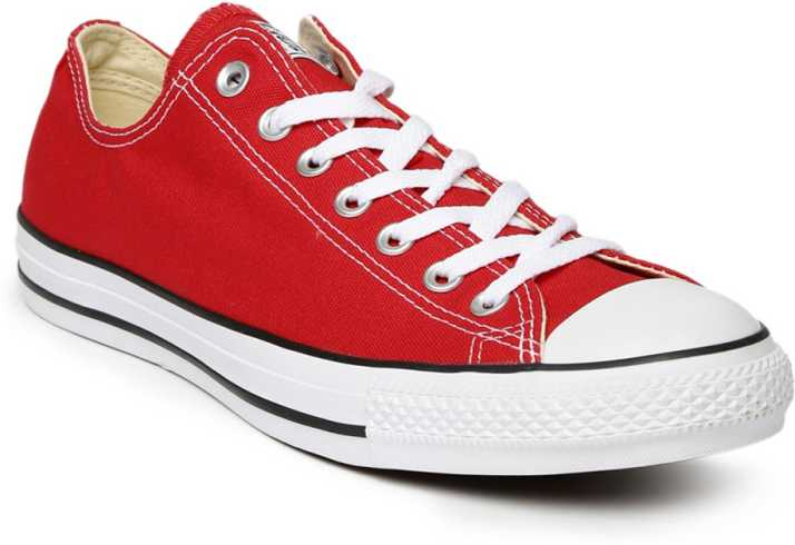 Converse Chuck Taylor ALL STAR RED Sneakers For Men - Buy Converse Chuck  Taylor ALL STAR RED Sneakers For Men Online at Best Price - Shop Online for  ... e87f258eb