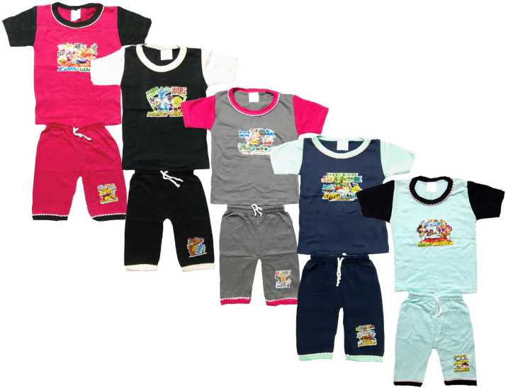 dc83cdc46 Manzon Kids Nightwear Boys   Girls Graphic Print Hosiery Price in ...