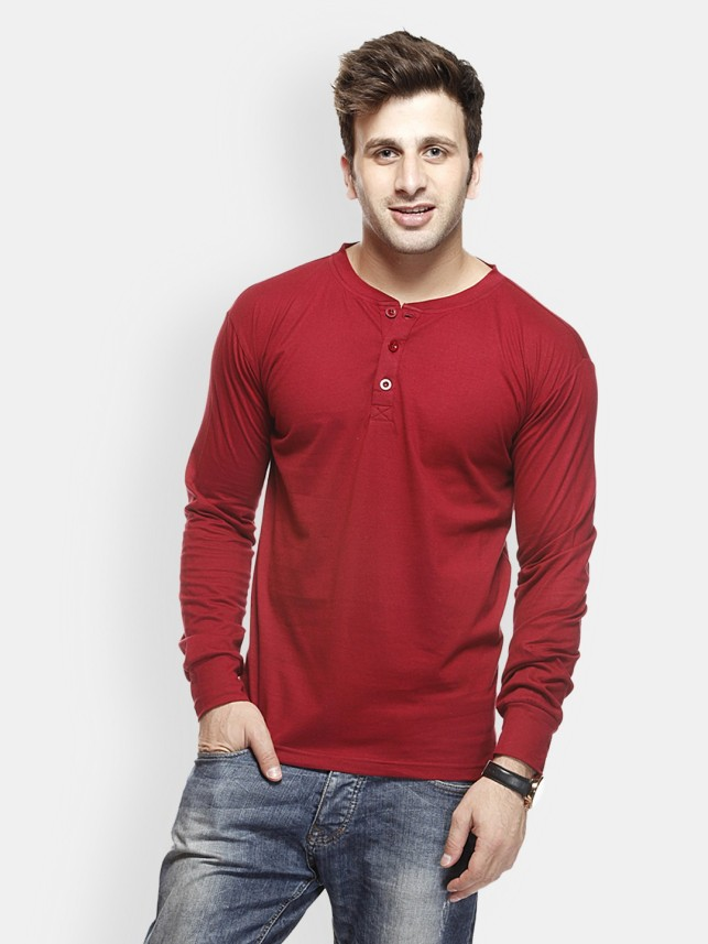 red t shirt for men