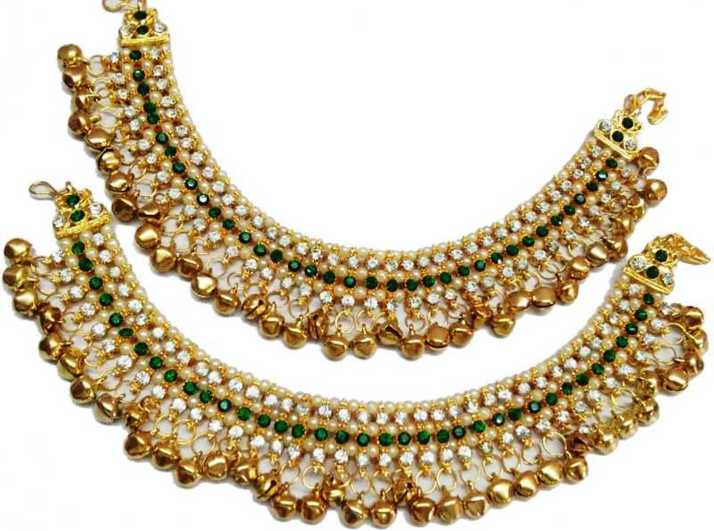Bridal & Wedding Party Jewelry Traditional Indian Goldtone Cz Stone Necklace Set Designer Women Party Jewellery