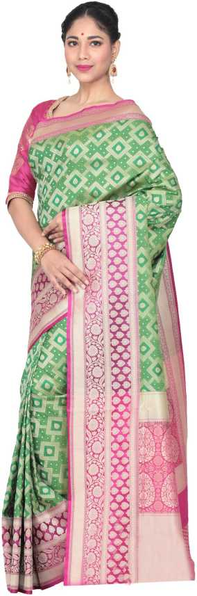 719ccb54f7 Buy KEYA SETH EXCLUSIVE Woven Fashion Pure Silk Multicolor Sarees Online @  Best Price In India | Flipkart.com