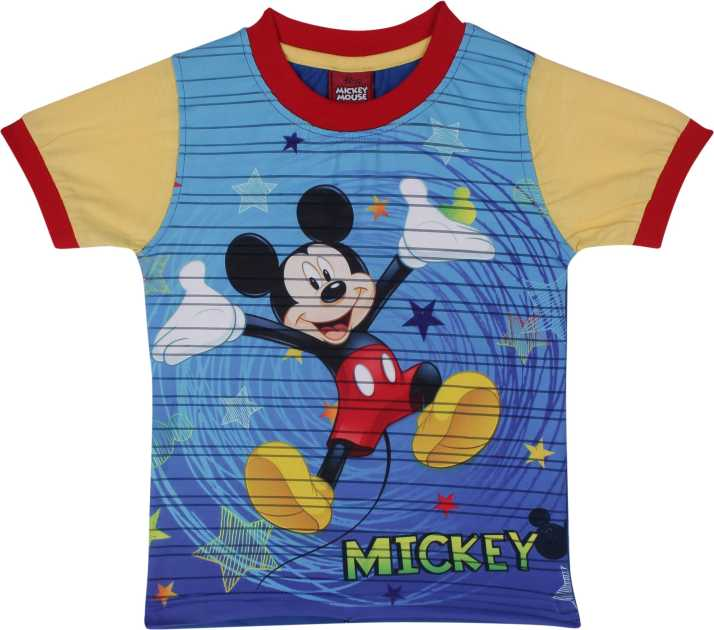 d269001e8 Disney Boys Graphic Print Cotton Blend T Shirt Price in India - Buy ...