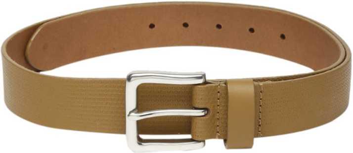 73a5b54ea87 Celio Men Tan Genuine Leather Belt Tan - Price in India