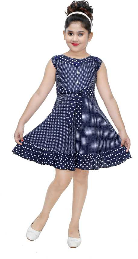 d407f9c6ced0 N BAHUBALI Girls Midi/Knee Length Casual Dress Price in India - Buy N  BAHUBALI Girls Midi/Knee Length Casual Dress online at Flipkart.com