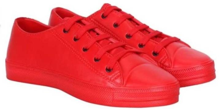 Venetien classic red shoe Canvas Shoes