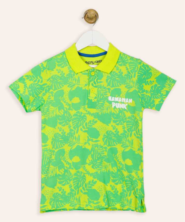 370551d6 Miss & Chief Boy's Printed Cotton T Shirt Price in India - Buy Miss ...