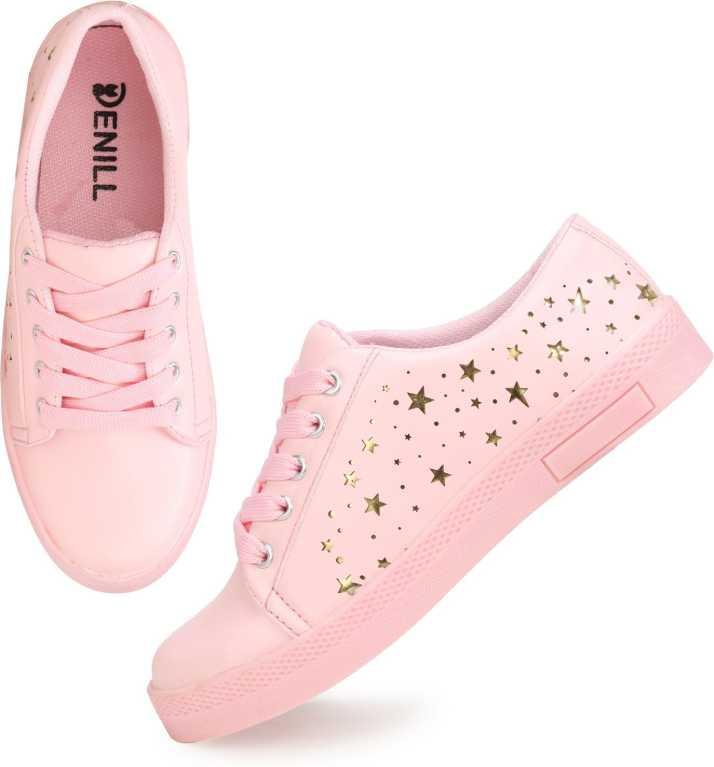 timeless design e47be 6c628 Denill Latest Collection Sneakers For Women (Pink). ₹459