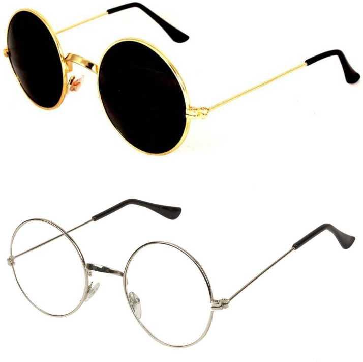 15d60f47f87c9 Buy kingsunglasses Round Sunglasses Clear