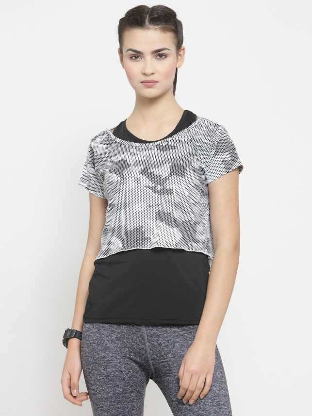9c5dd01bad8069 Boston Club Casual Half Sleeve Solid Women's Black, White Top - Buy Boston  Club Casual Half Sleeve Solid Women's Black, White Top Online at Best Prices  in ...