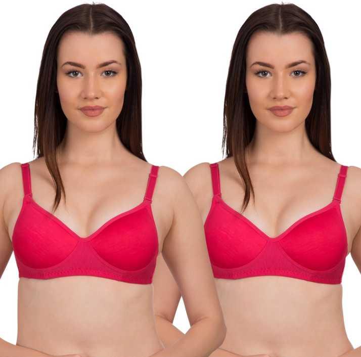 a4d74c0590a Komli byBelle Lingeries Pink Non Padded Full Coverage T-Shirt Bra ...