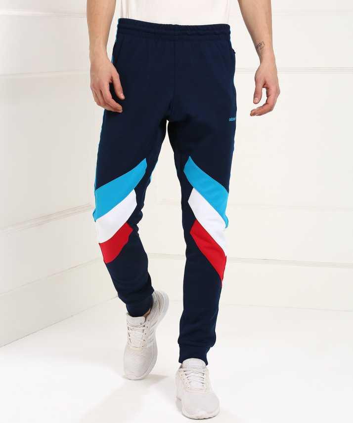 ADIDAS Colorblock Men's Multicolor Track Pants