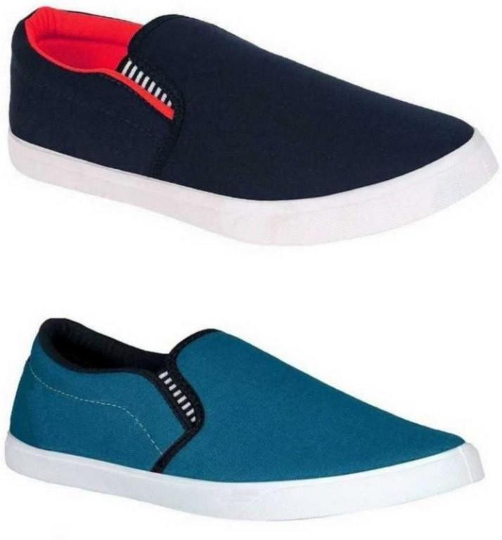 Smylo Pack Of 2 Men Shoes Loafers For