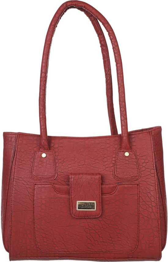 5c8f1bbd217e Buy HI SPRIT Shoulder Bag Maroon Online   Best Price in India ...