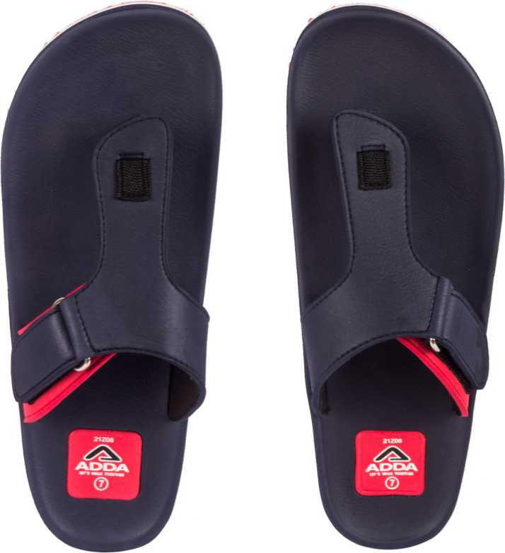 e653d5d5e90 Adda Slippers - Buy Red Color Adda Slippers Online at Best Price - Shop Online  for Footwears in India | Flipkart.com