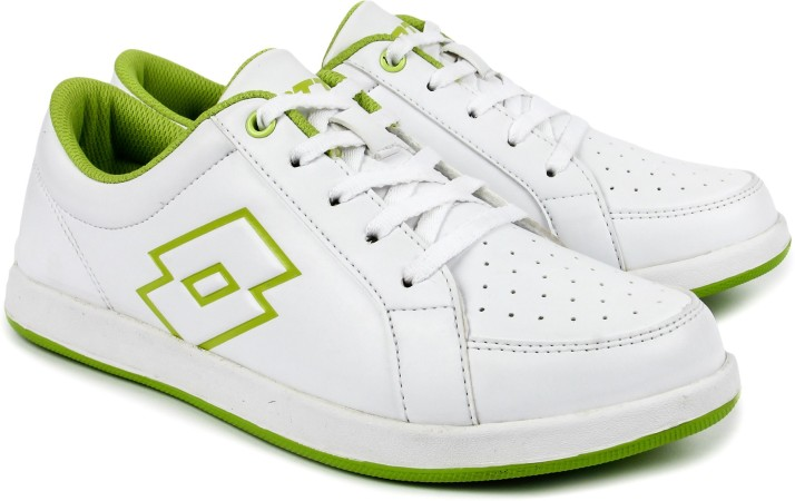Lotto Logo Plus W White/ Lime Sneakers