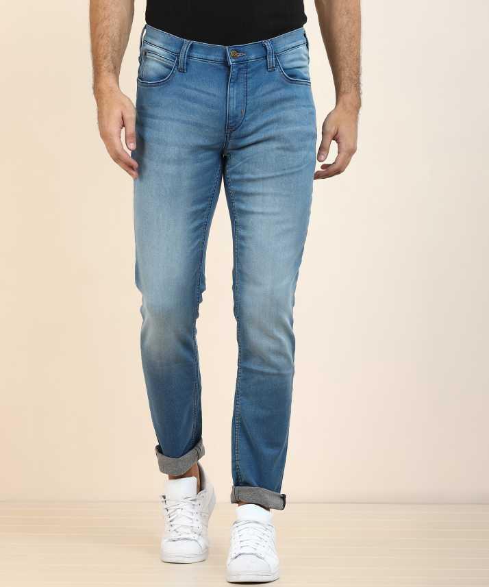 6fd9ebbed725 Lee Skinny Men Blue Jeans - Buy Lee Skinny Men Blue Jeans Online at Best  Prices in India