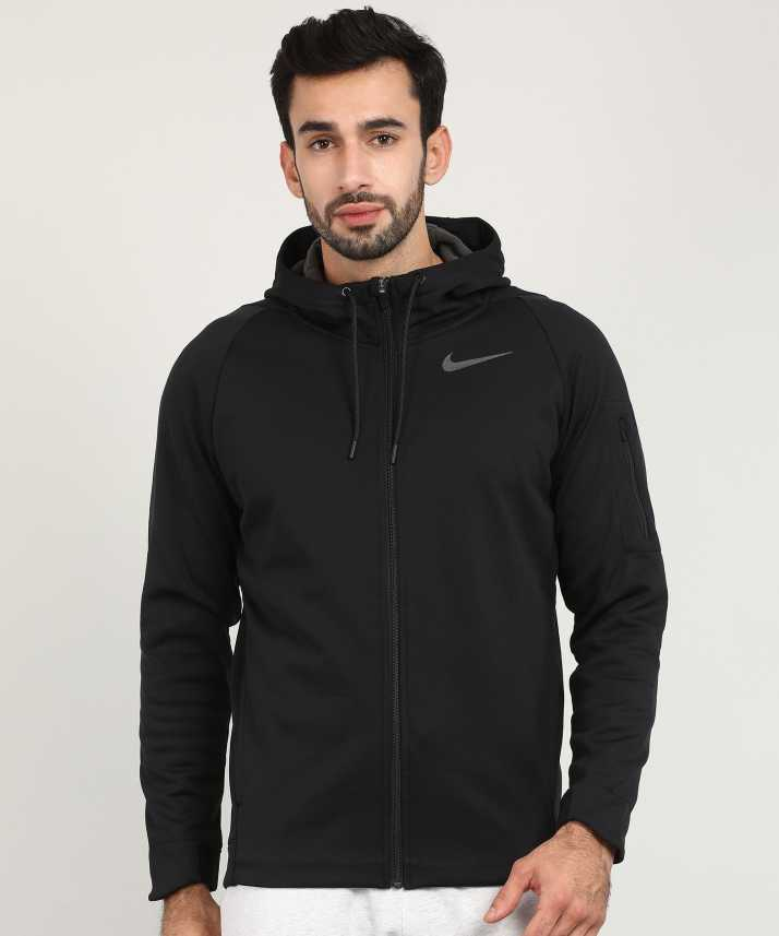 970f771a1b49 Nike Full Sleeve Solid Men Jacket - Buy Nike Full Sleeve Solid Men Jacket  Online at Best Prices in India