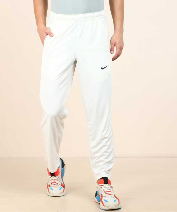 pasaporte recibo Gratificante  Nike Self Design Men White Track Pants - Buy Nike Self Design Men White  Track Pants Online at Best Prices in India | Flipkart.com