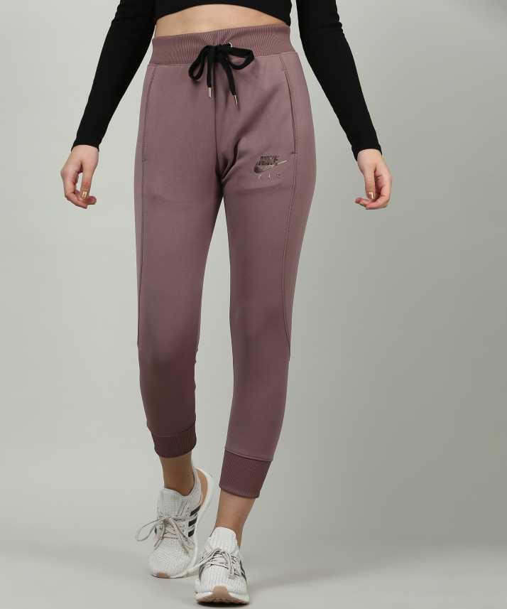 c2b608559752 Nike Solid Women s Brown Track Pants - Buy Nike Solid Women s Brown ...