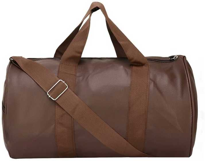 7b3e428fbf94 DREAMATION (Expandable) B1 Gym Bag BROWN - Price in India