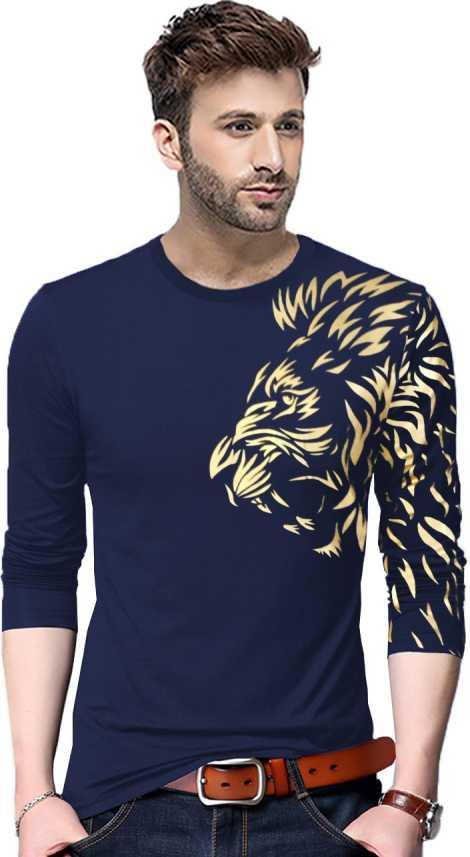 679f4754e2 Tripr Graphic Print Men Round Neck Dark Blue T-Shirt - Buy Tripr Graphic Print  Men Round Neck Dark Blue T-Shirt Online at Best Prices in India | Flipkart.  ...