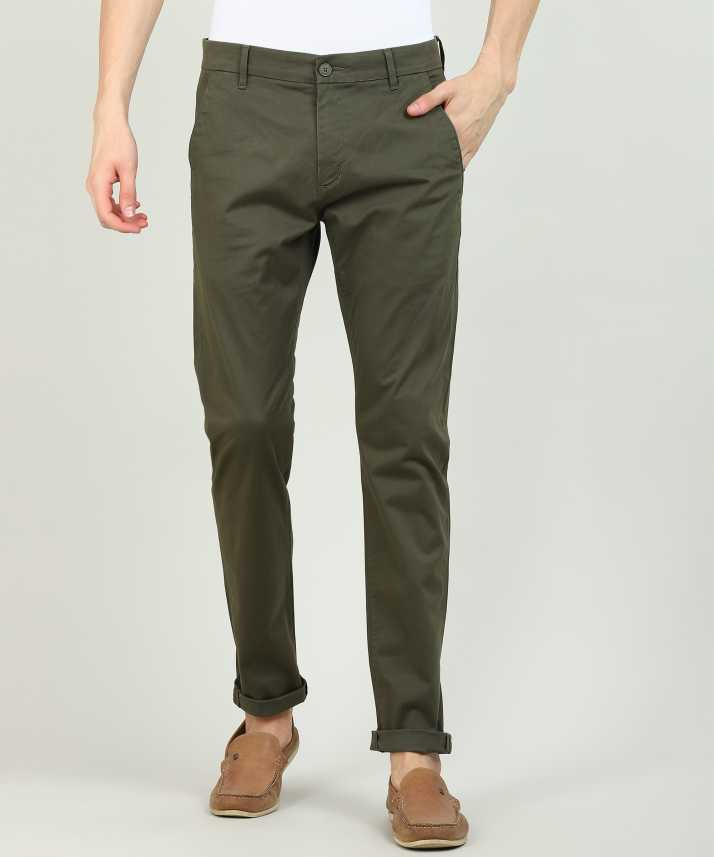 e8a337b1bd5 Levi's Tapered Men Green Trousers - Buy Levi's Tapered Men Green Trousers  Online at Best Prices in India | Flipkart.com