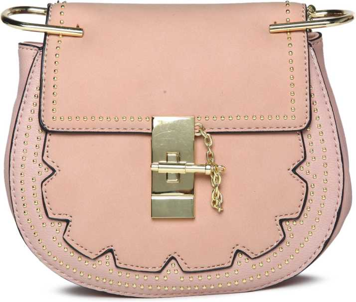 c69efab767a2 United Colors of Benetton Women Casual Beige PU Sling Bag. Special price