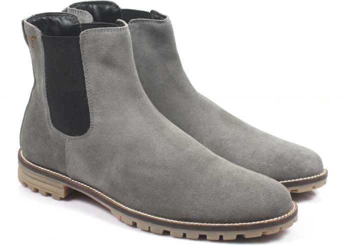 Freacksters Suede Leather Chelsea Boots Boots For Men