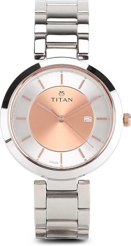 Titan 2480km01 Analog Watch For Women Buy Titan 2480km01 Analog Watch For Women 2480km01 Online At Best Prices In India Flipkart Com