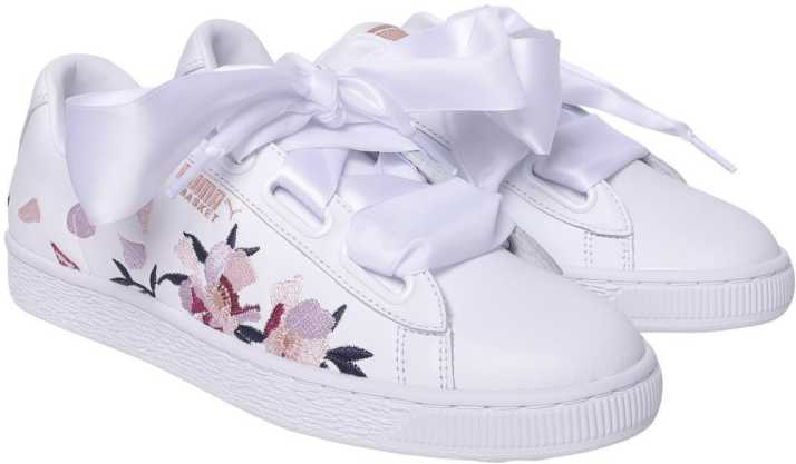 finest selection f7f0d 4974e Puma Basket Heart Flowery Wn s Sneakers For Women - Buy Puma ...
