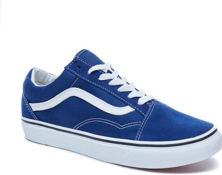 vans old skool blue mens