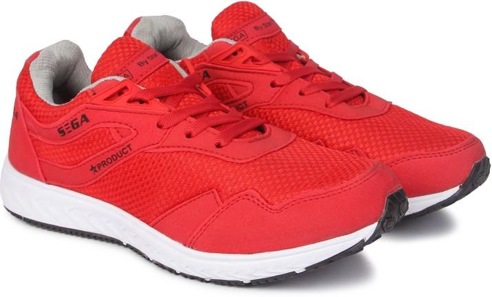 SEGA Red-Marathon Running Shoes For Men