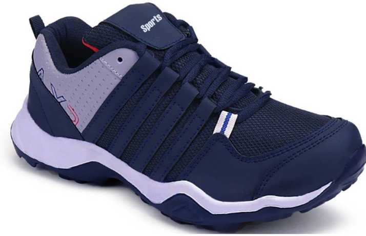 96a05133446d3 Clymb Blue Light Weight with Eva Sole material Sport Running Shoes For Men  (Navy)