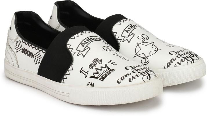 Alberto Torresi Slip On Sneakers For