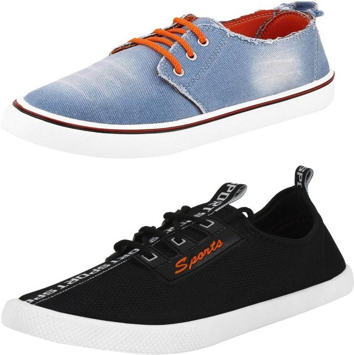 Trenqs Canvas Shoes For Men