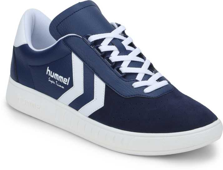 pretty nice fae80 7fe9a HUMMEL Super Trimm Blue Unisex Sneakers For Men - Buy HUMMEL ...
