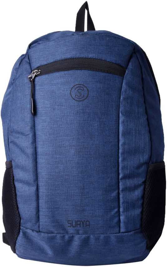 57db290966 Surya Bags Industries Surya Polyester Unisex 21 L Light Weight Blue College  Backpack Bag With Laptop Compartment 21 L Backpack (Blue)