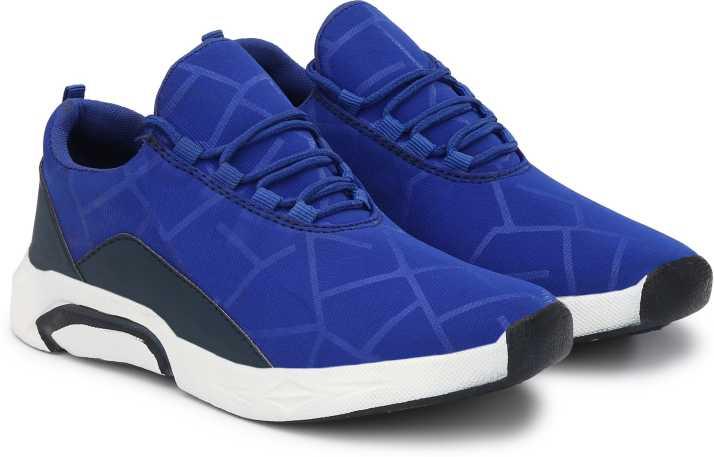 High Steps HS 1822 Sky Blue Sneakers For Men - Buy High