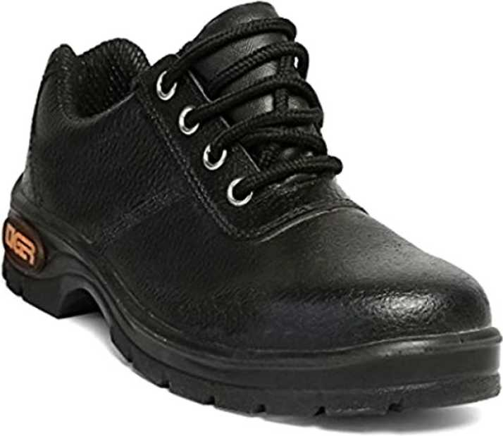 Mallcom Tiger Lorex PU Sole Leather Safety Shoes ISI Outdoors For Men