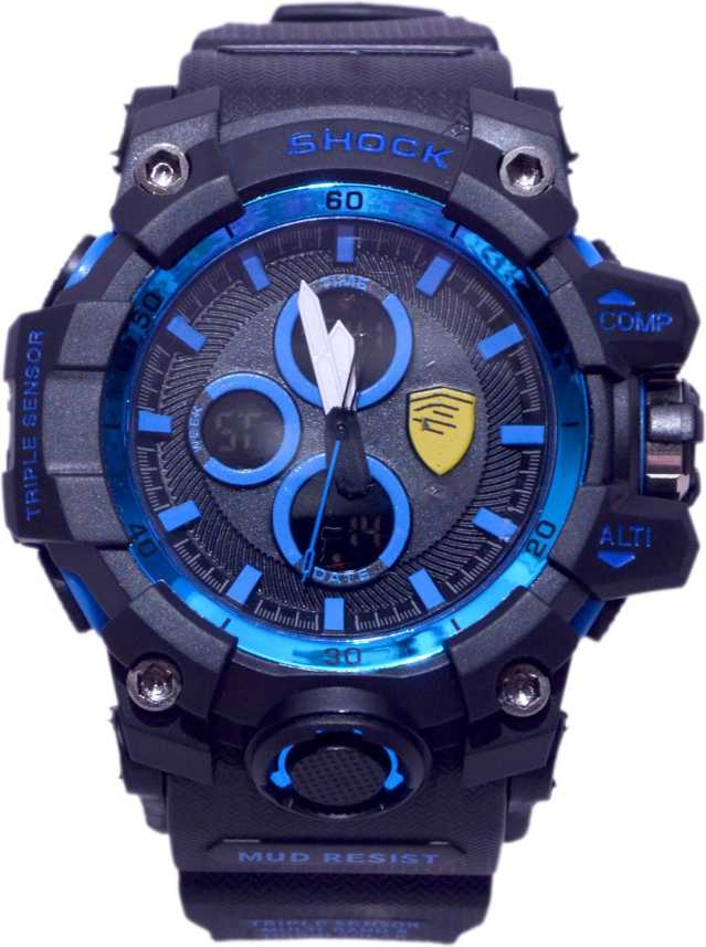 SHOCK IMPORTED HIGH QUALITY C @ S l 0 Limited EDITION BLUE / BLACK