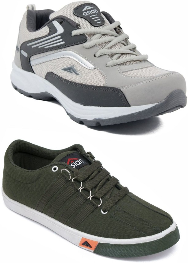 Asian Multicolor Sports Shoes,Walking